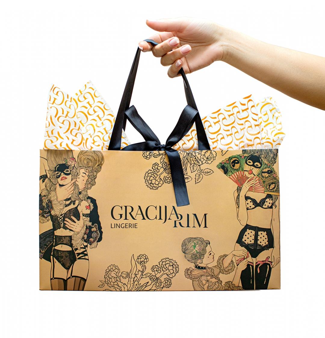 Яркая подарочная упаковка для ваших клиентов